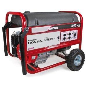 powermate pm  watt cc hp honda gx gas powered portable generator