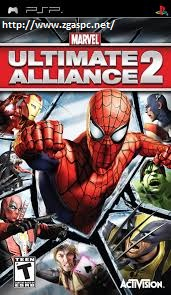 Free Download Games Marvel Ultimate Alliance II PSSPP ISO Untuk KOmputer Full Version  ZGASPC