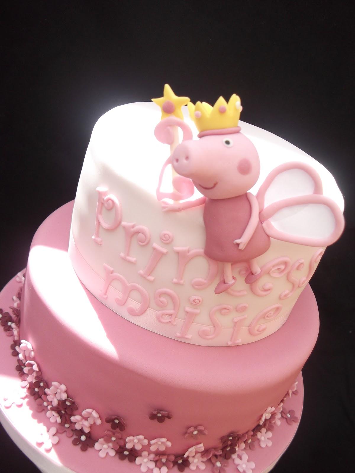 Cakes By Karen: Peppa Pig Cake