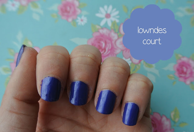 nails inc lowndes court swatch