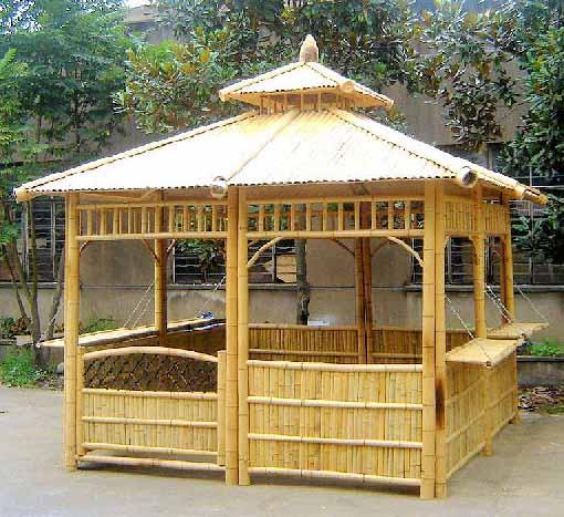 Complementos casa y jard n p rgolas de bamb - Pergola bambu ...