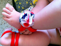 DIY Barefoot Sandals for Babies