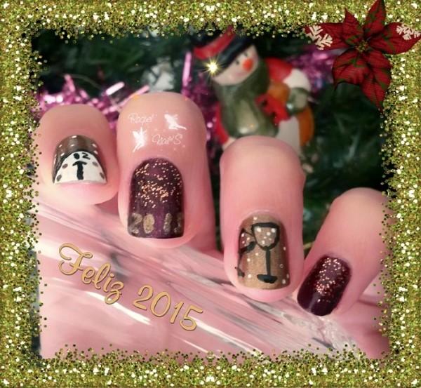 Nails Happy new year