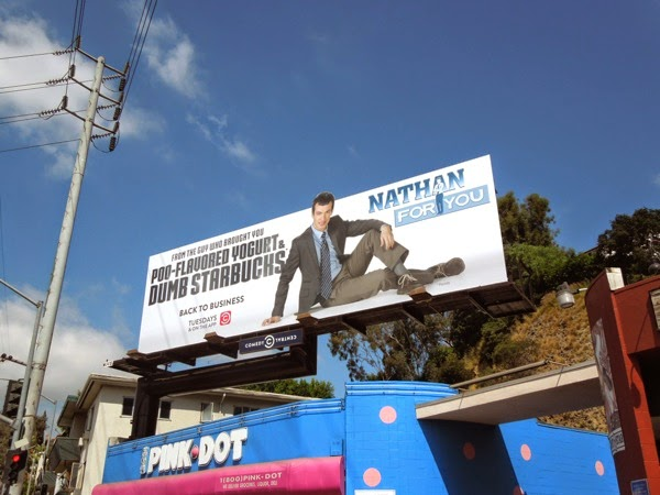 Nathan For You season 2 billboard