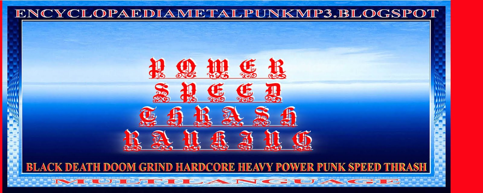ENCYCLOPAEDIA POWER SPEED THRASH RANKING MP3 BLOGSPOT