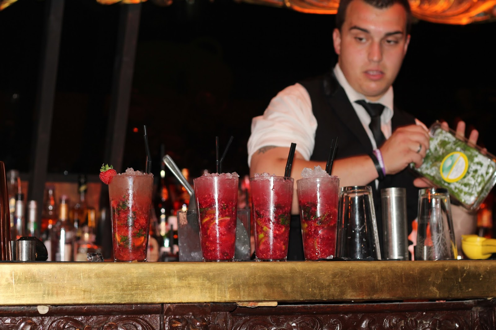 Cocktail masterclass, soda bar cardiff
