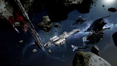 Star Citizen asteroid