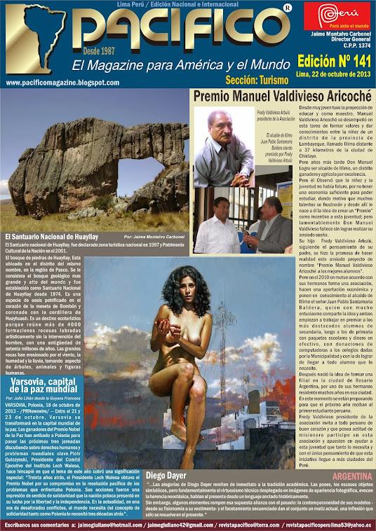 Revista Pacífico Nº 141 Turismo