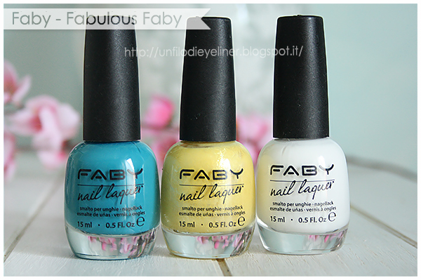 Swatch & Review: Faby - Fabulous Faby Collection
