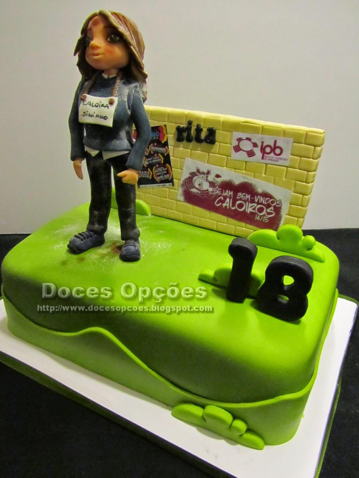 bolo decorado praxe caloiros bragança doces opções