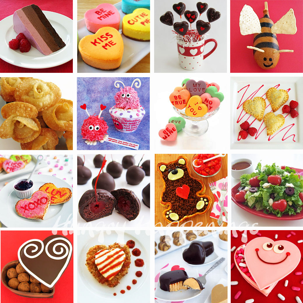 valentine's day food art