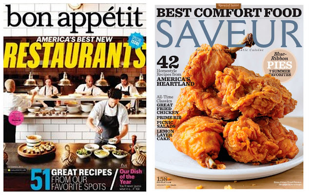 Bon Appetit & Saveur September 2013