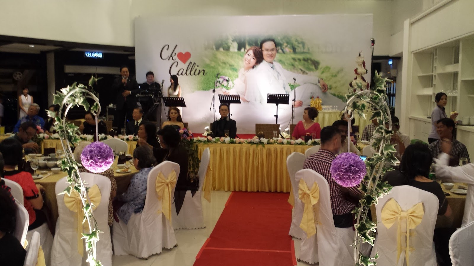Wedding dinner penang golf club red occasions wedding dinner penang golf club junglespirit Choice Image