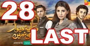 Saya e Deewar Bhi Nahi Last Episode 28