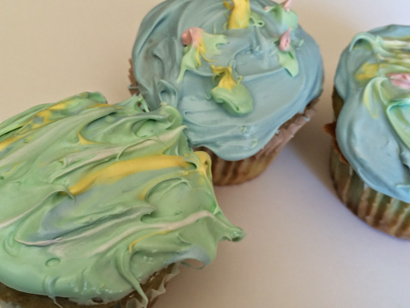 Art cupcakes