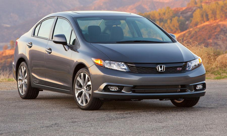Honda Civic Si Navi Sedan 2012 Review