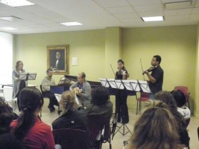 II Edición Diplomado en Patrimonio Musical Hispano (marzo 2012)