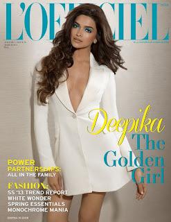 Deepika Padukone – L'Officiel India (March 2013)
