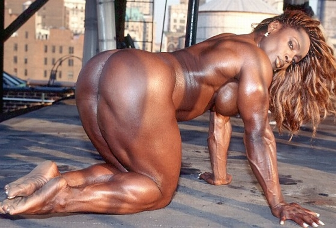 sex black bodybuilders female nude