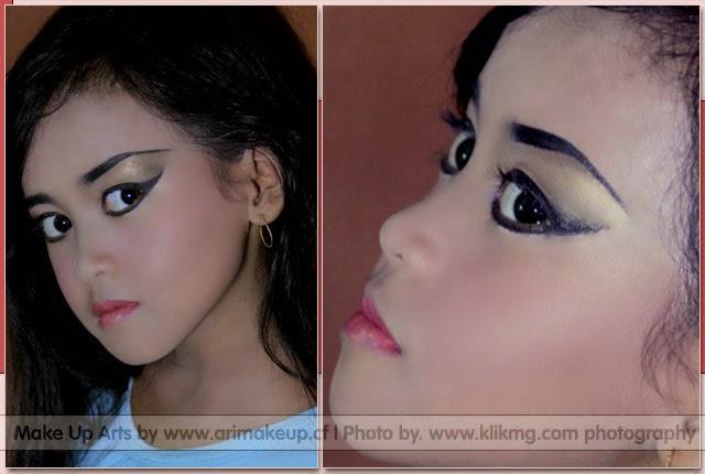 Olahan Make Up / Rias Wajah dengan Talent : Mayang Lalita  oleh ARI Rias Pengantin Purwokerto