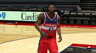 Nene Dreadlocks Hair NBA2K