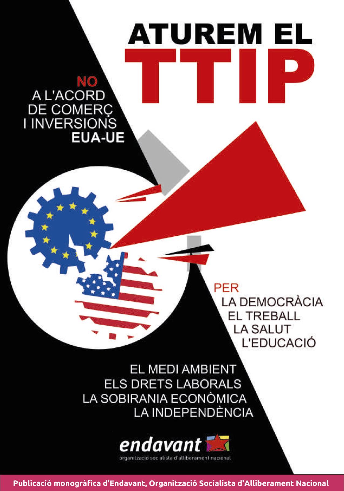 Aturem el TTIP – Publicació monogràfica