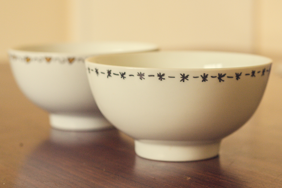 DIY Sharpie Bowl with Stars Pattern