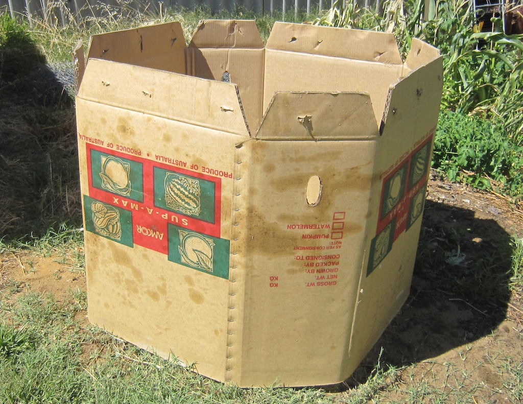 11 get composting quick easy and free with a cardboard compost bin
