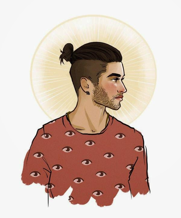 Boy Cartoon Zayn Even Made The Artwork His Twitter Profile Pic So Does That Mean He Still