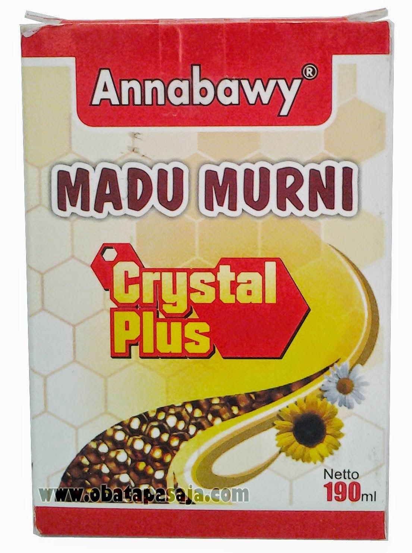 Khasiat  Madu Murni Crystal Plus Annabawy