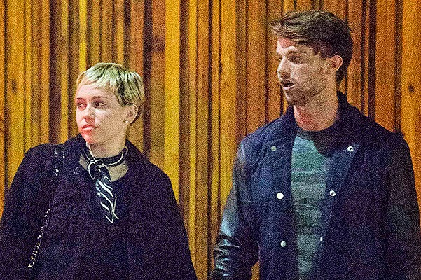 Weekend Out: Miley Cyrus and Patrick Schwarzenegger dined in Hollywood