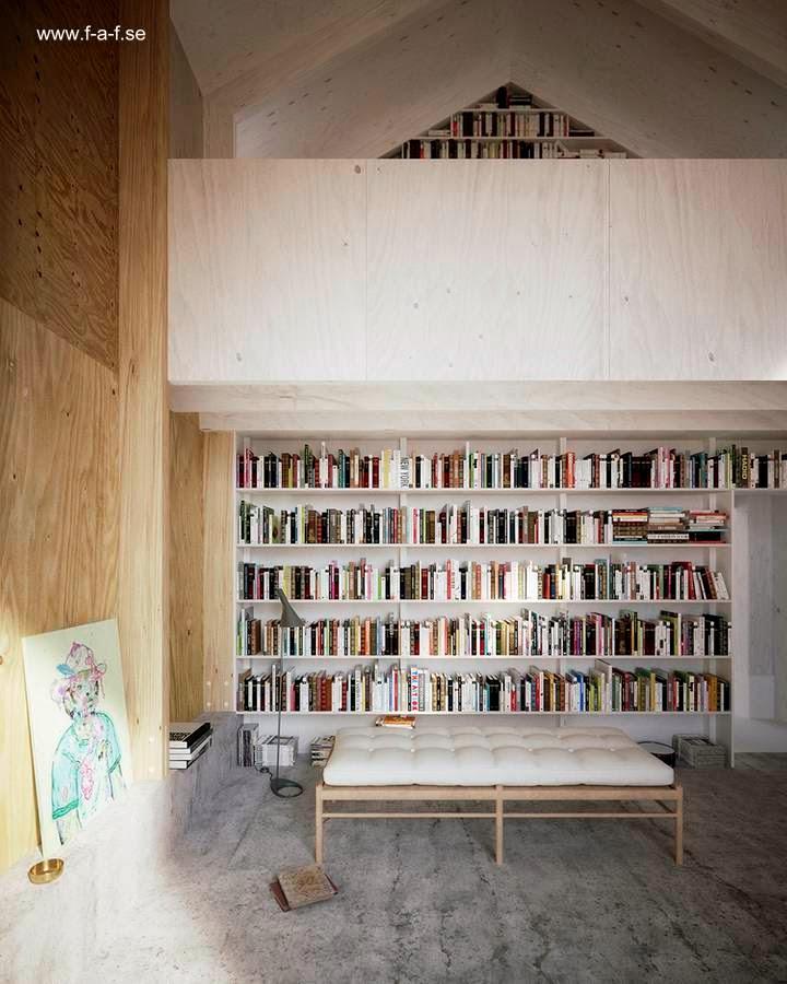 Interior del segundo volumen área privada