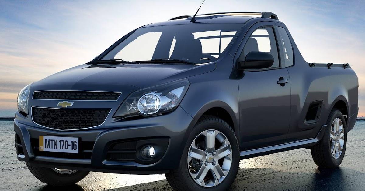 Chevrolet Montana - 5º comercial leve mais vendido do Brasil
