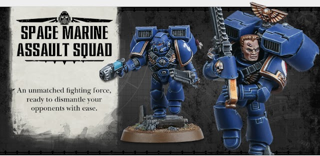Space Marine Assault Squad/ First Company Task Force Pre-Orders