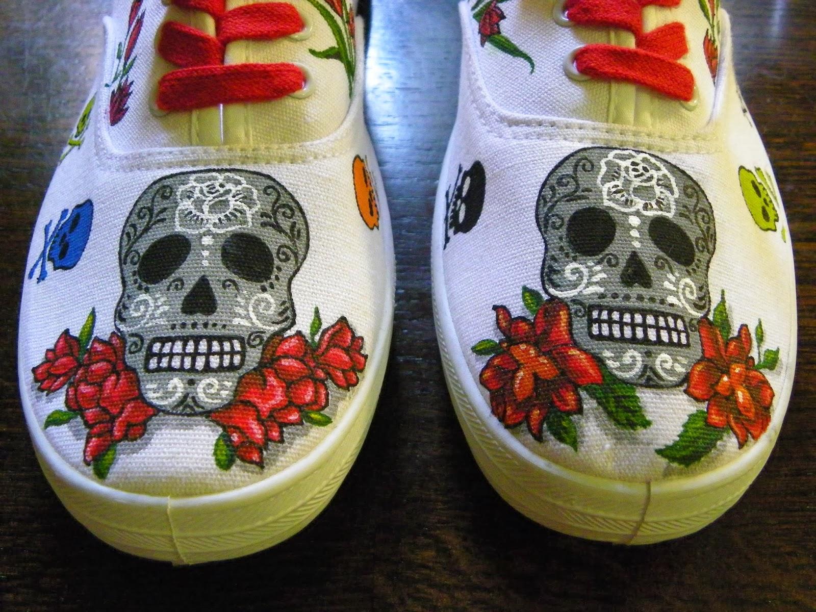 DISEÑOS DE CALAVERAS tattoos color flores etc Jimdo - Imagenes De Calaveras Con Rosas