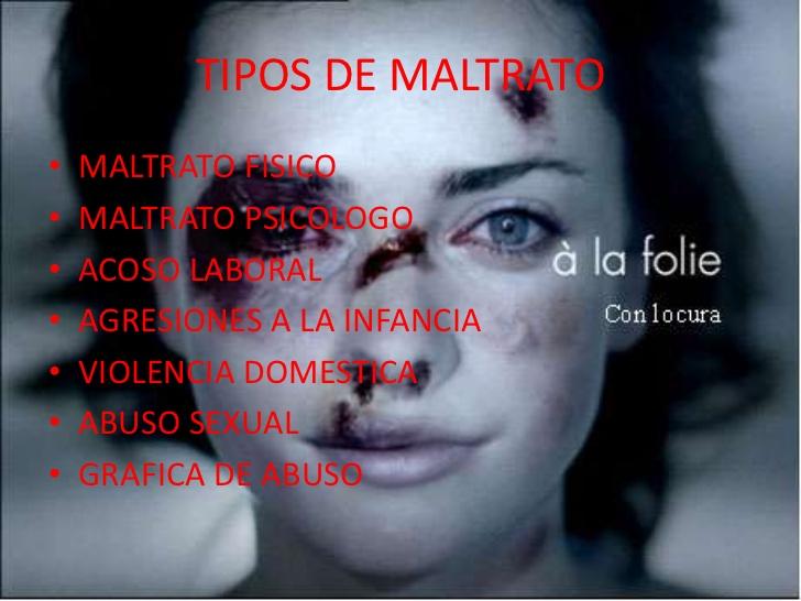 Di No A La Violencia A La Mujer Tipos De Violencia Contra La Mujer