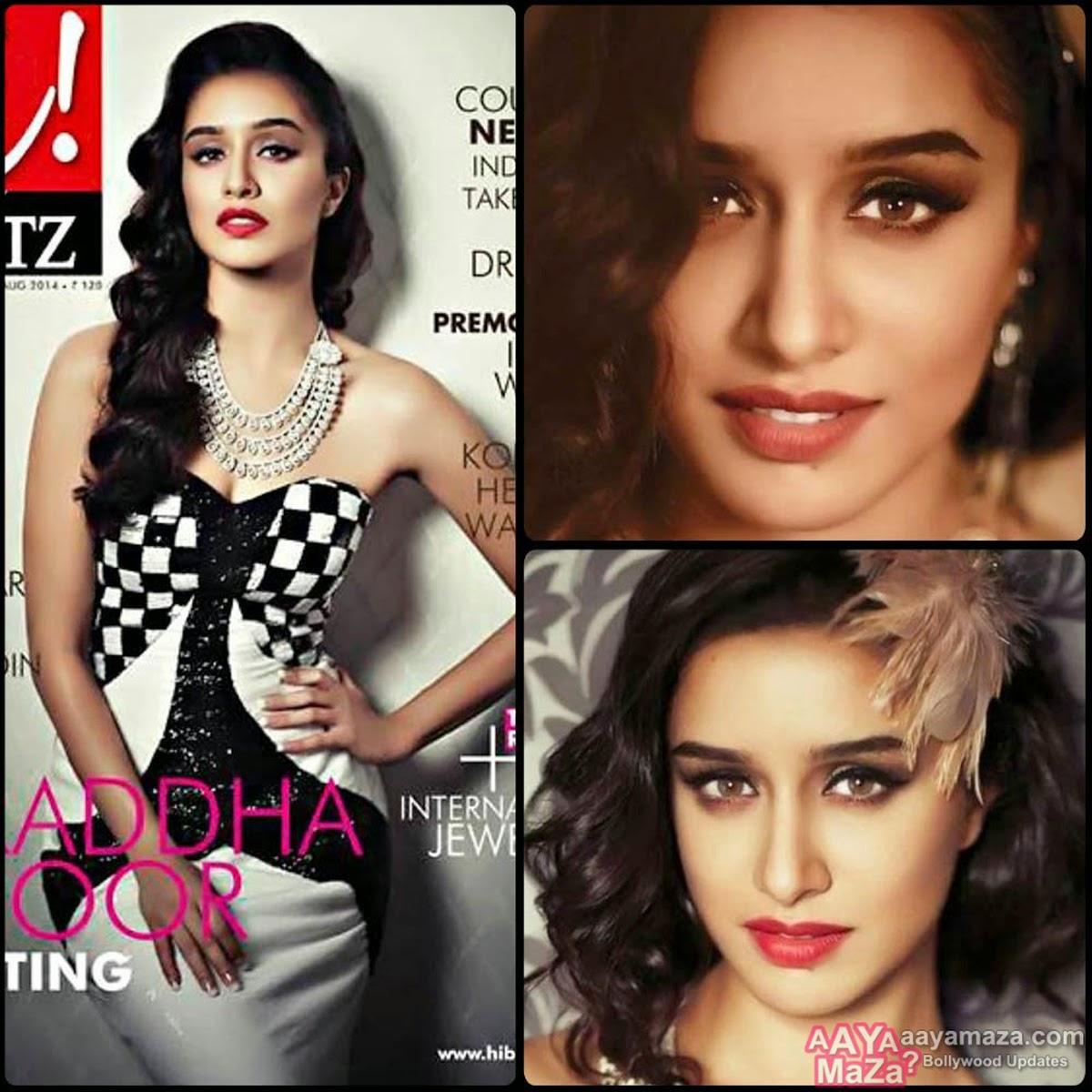 shraddha kapoor Hi blitz magazines august 2014 pics