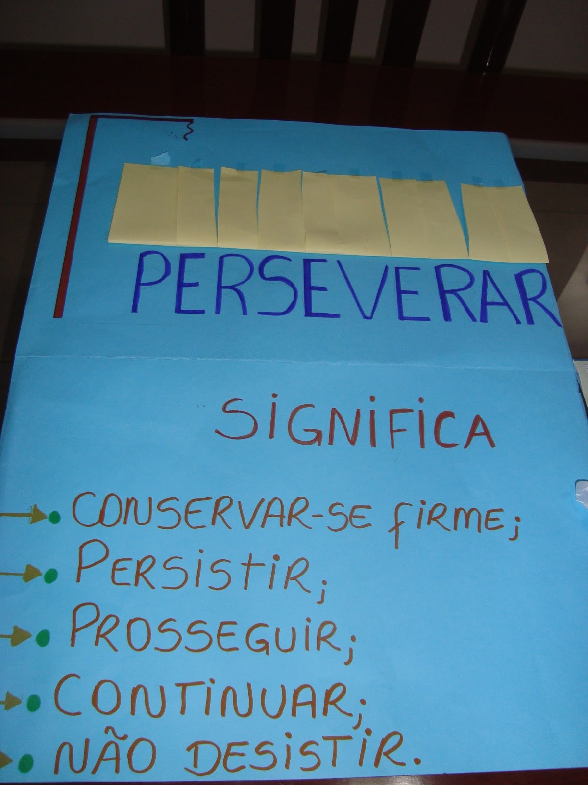 Kika villa artes a perseveran a de caleb for Que significa wc