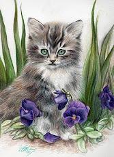 Gattino dagli occhi verdi