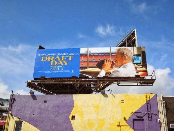 Draft Day film billboard