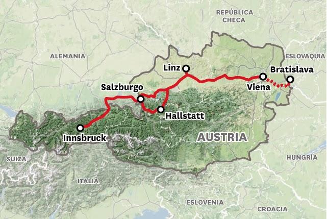 Hoja De Rutas Blog De Viajes Austria Y Bratislava Noviembre 2010