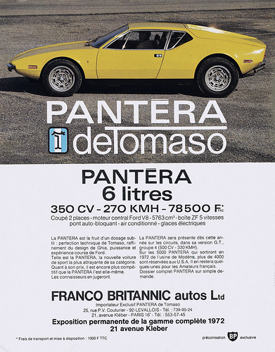 blog do camaro pantera detomaso. Black Bedroom Furniture Sets. Home Design Ideas