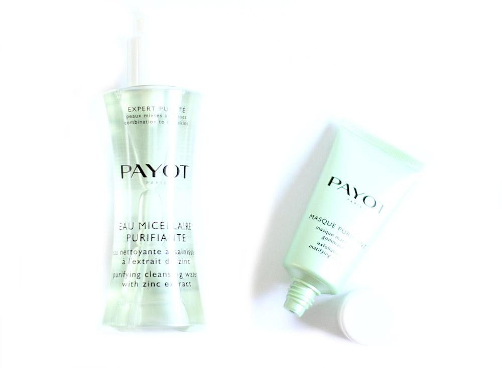 payot expert pureté eau micellaire purifiante masque purifiant avis test