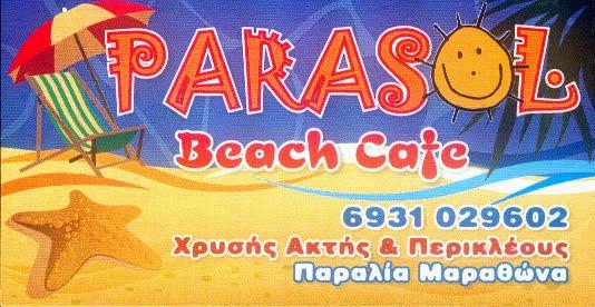 PARASOL  Beach cafe