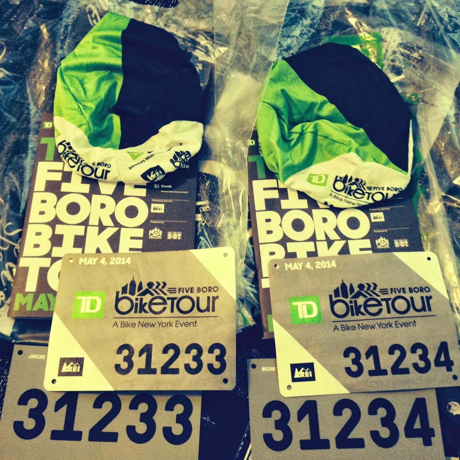 TD 5 boro bike tour 2014
