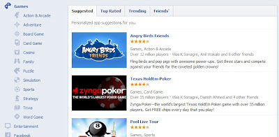 facebook apps store