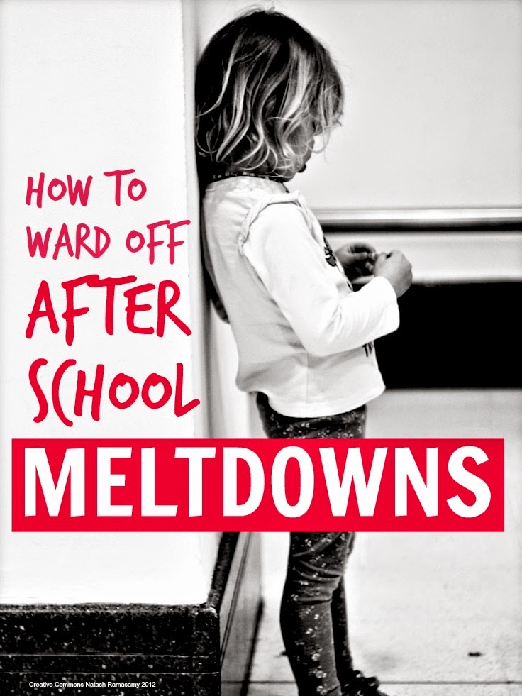 Avoiding After School Meltdowns