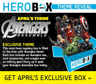 Avengers Assemble Hero Box from SuperHeroStuff