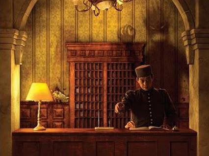 petugas resepsionis hotel yang bertingkah aneh