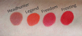 Color Studio Professionals, Color Play, Lipstick review, Lipstick swatches, lip swatches, berry lips, red lips, pink lips, orange lips, beauty, fawn lips, dark lips, plum lips, coral lips, orange lips, peach lips, nude lips, matte lips, vlelvet lips, pout, sexy lips, beauty blog, top beauty blog, red alice rao, redalicerao